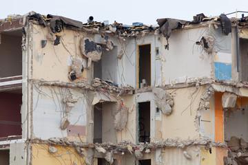 destruction logement appartement réhabilitation insalubre immeub