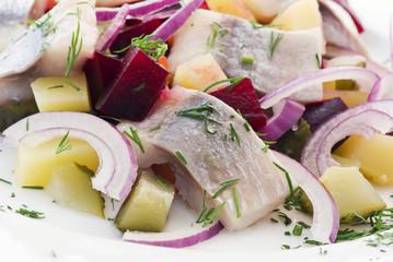 Matjes Salat