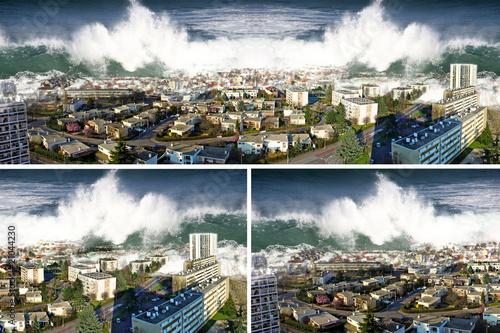 catastrophe naturelle tsunami - 21044230