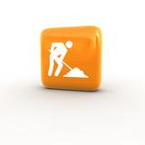Workman icon poster
