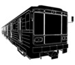 Metro Train Wagon Vector 01