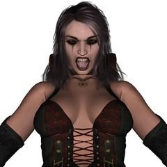 Sexy wampire lady