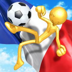 Gold Guy Football Soccer