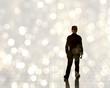 Man in light