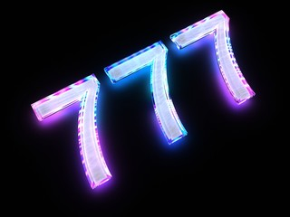 777 - sign