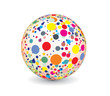 abstract multicolor ball