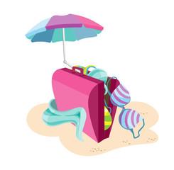Suitcase_beach