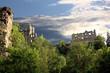 Leinwanddruck Bild - Klosterruine Oybin