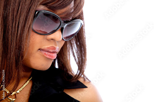 woman portrait - sunglasses