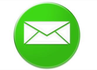 icono sobre de correo electronico
