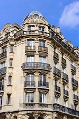 Paris, Immeuble de pierre blanche.
