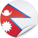 Sticker du Népal (détouré) poster
