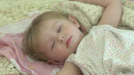 Baby falls asleep - 107