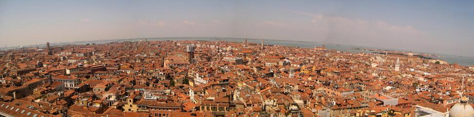 Panorama di venezia dall'alto