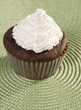 Chocolate Cupcake with Vanilla Icing