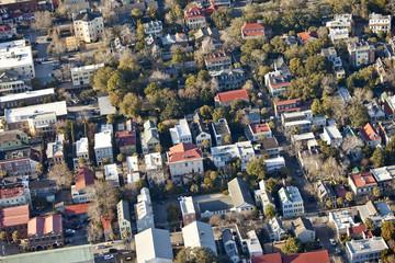 aerial city