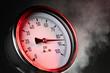 canvas print picture - Pressure gauge