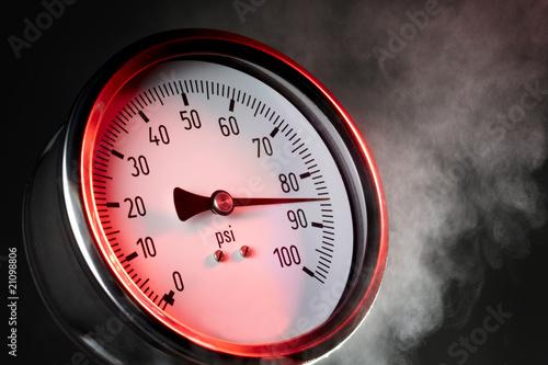 canvas print picture Pressure gauge