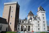 Tourisme au chateau de Pau poster