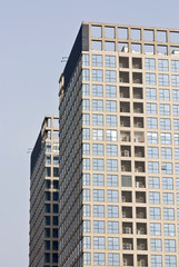 Office Abstract Corporate Background of a Highrise buildings