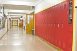 Empty School Hallway - 21107079