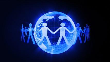 Global communication chain