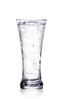 glass of clear water and ice