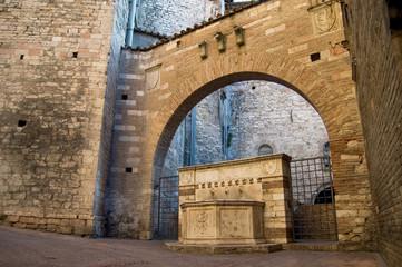 fontana a Perugia - Umbria