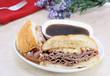 Roast Beef Dip Sandwich.