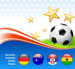 World Soccer Football Group D