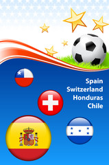World Soccer Football Group H
