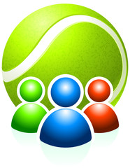 Tennis Ball with User Group