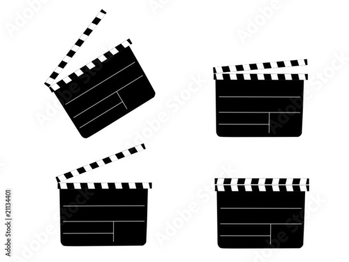 Filmklappen from DS-Visionen, Royalty-free vector #21134401 on Fotolia ...