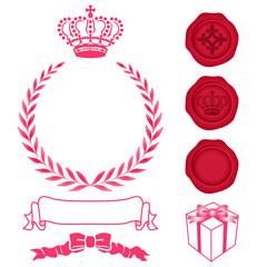 crown 花輪