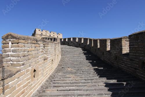 Fotobehang Chinese Muur great wall of china mutianyu china