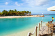 Leinwanddruck Bild - Mambo Beach auf Curacao