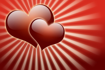 Valentine day and love background