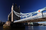 The Tower Bridge the famous landmark of London poster