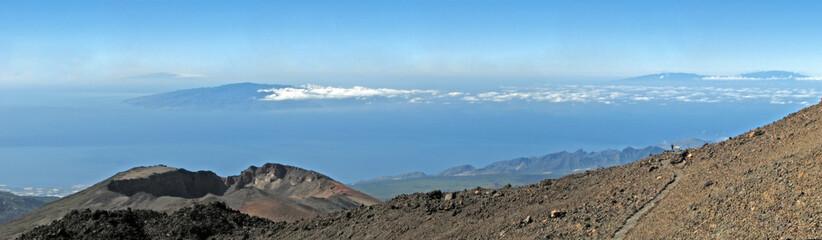 Blick vom Teide auf den Pico Viejo (Teneriffa)