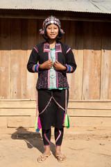 Portrait ethnische Volksgruppe Silo in Laos