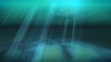 Tropical underwater scene poster