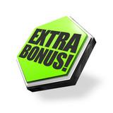 Extra Bonus! Button, Icon poster