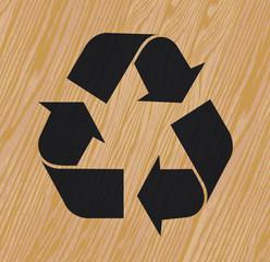 recyclage du bois