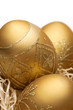 Golden easter eggs