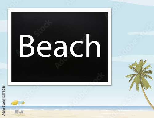 Beach - Holiday Concept