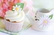 Daisy cupcake
