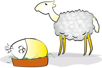 Osterlamm un Ei Ei