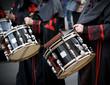 Drummers at Semana Santa in Valladolid, Spain