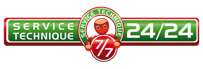 Service Technique 7/7 j