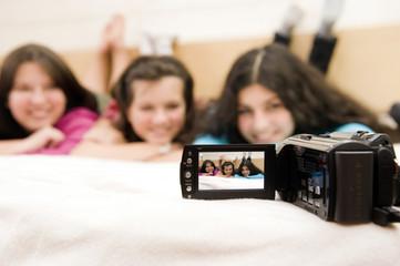 Vidéo entre adolesecentes